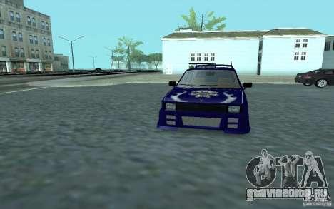 Yugo 45 Tuneable для GTA San Andreas вид сбоку