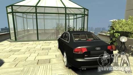 Audi S4 Quattro для GTA 4 вид сзади слева