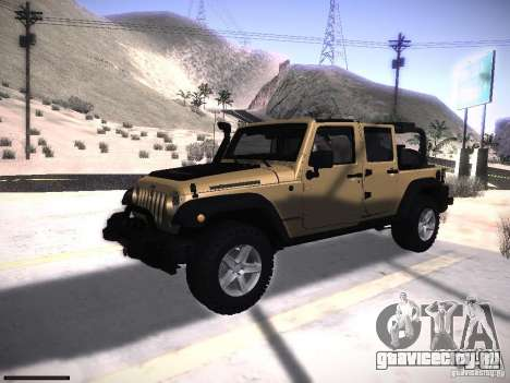Jeep Wrangler Rubicon Unlimited 2012 для GTA San Andreas