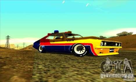 Ford Falcon 351 GT Interceptor Mad Max для GTA San Andreas