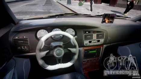 Chevrolet Evanda для GTA 4 вид сзади