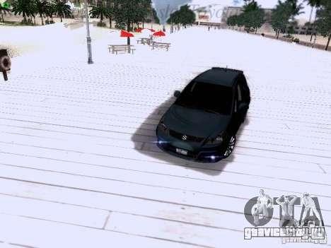 Suzuki SX4 Sportback 2011 для GTA San Andreas вид снизу