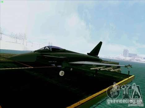 Eurofighter-2000 Typhoon для GTA San Andreas
