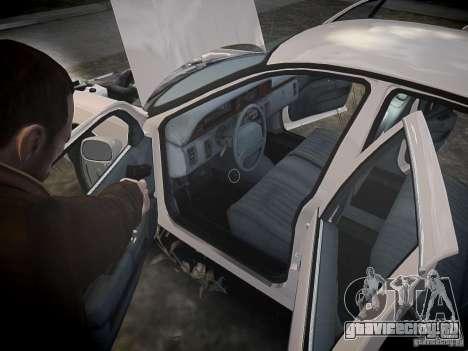 Chevrolet Caprice 1993 Rims 1 для GTA 4 вид снизу