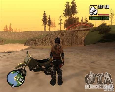 Гонщик из Fuel для GTA San Andreas третий скриншот