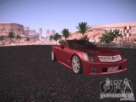 Cadillac XLR 2006 для GTA San Andreas вид слева