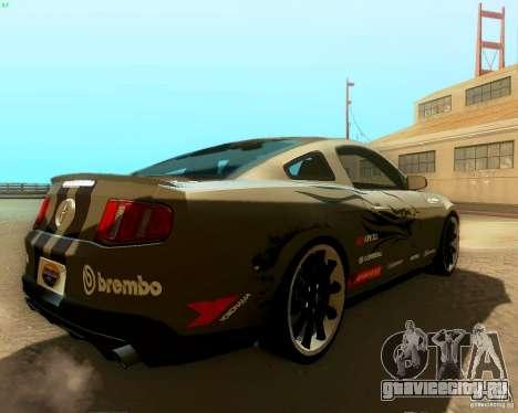 Ford Mustang Boss 302 2011 для GTA San Andreas салон