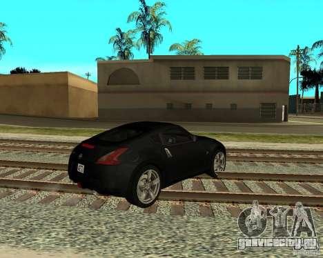 Nissan 370Z v2.0 для GTA San Andreas вид справа