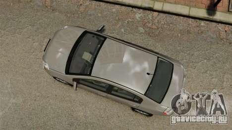 Nissan Sentra S 2008 для GTA 4 вид справа