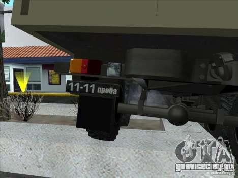 ГАЗ 34 для GTA San Andreas вид изнутри