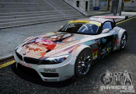 BMW Z4 GT3 2010 V.2.0 для GTA 4