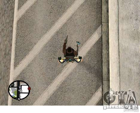 Новый Jetpack для GTA San Andreas третий скриншот