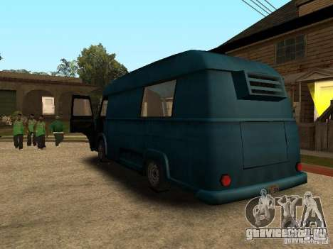 Гражданский Hotdog Van для GTA San Andreas вид слева