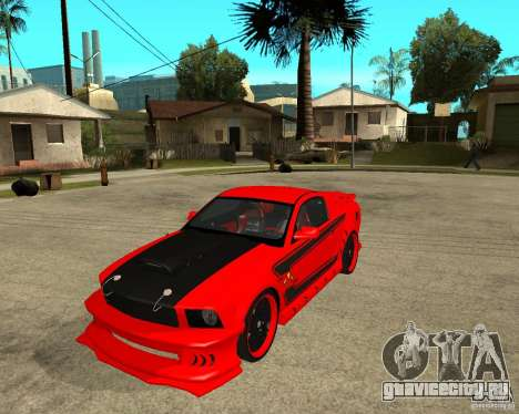 Ford Mustang Red Mist Mobile для GTA San Andreas