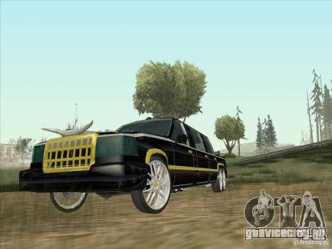 Limousine для GTA San Andreas вид слева