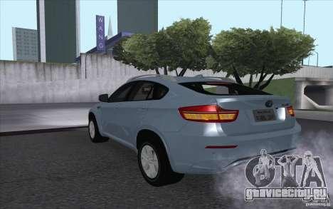 BMW X6M 2013 для GTA San Andreas вид слева