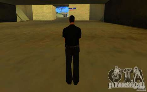 HQ skin lapd1 для GTA San Andreas второй скриншот