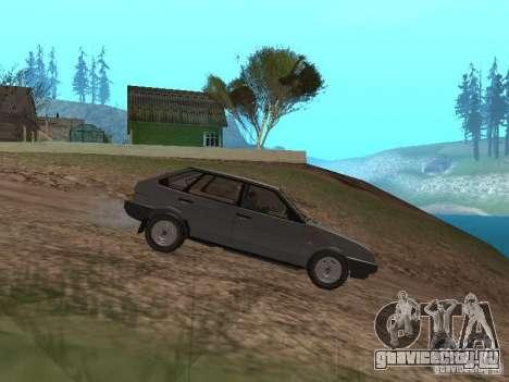 ВАЗ-2109 1987 Спутник v1.2 для GTA San Andreas вид слева