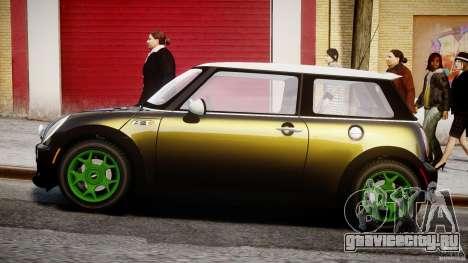 Mini Cooper S 2003 v1.2 для GTA 4 вид слева