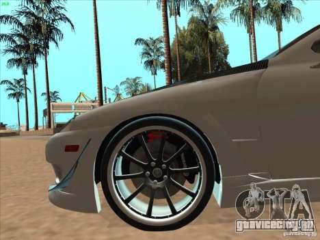 Toyota Soarer (JZZ30) для GTA San Andreas вид сверху