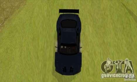 Nissan Skyline R34 GT-R LM для GTA San Andreas вид сзади слева