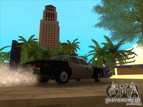 Chevrolet Caprice Interceptor LAPD 1986 для GTA San Andreas вид справа