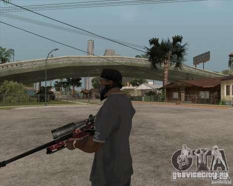 Accuracy International L96A1 для GTA San Andreas третий скриншот