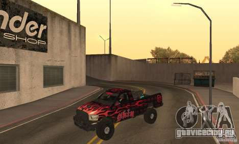 Dodge Power Wagon Paintjobs Pack 1 для GTA San Andreas