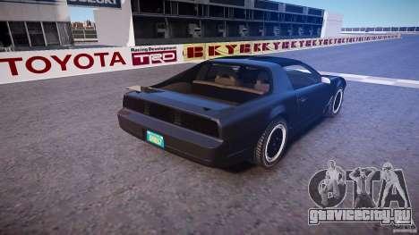 Knight Rider [EPM] для GTA 4 вид сверху