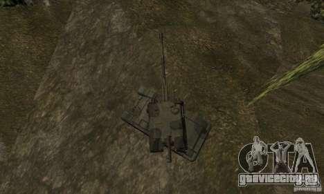 Мста-С, 2С19 Стандартный вариант для GTA San Andreas вид сзади