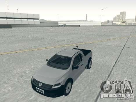 Volkswagen Saveiro 1.6 2009 для GTA San Andreas вид справа