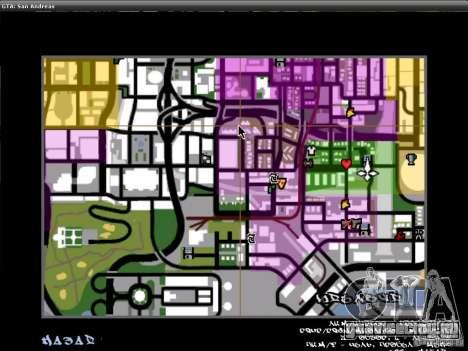 Шрифт из NFS MW V2 для GTA San Andreas седьмой скриншот