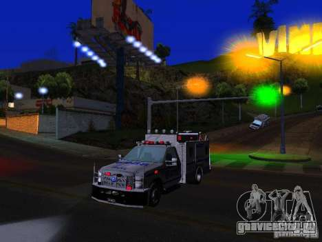 Ford F350 REP Truck для GTA San Andreas