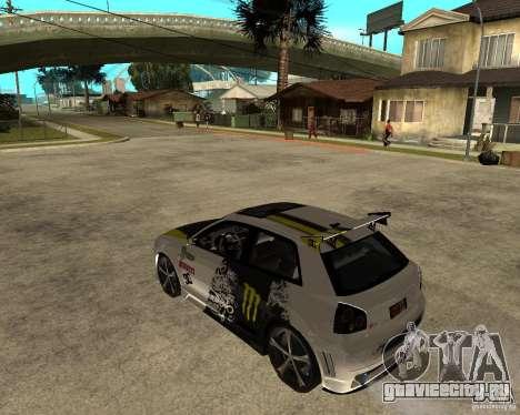 Audi S3 Monster Energy для GTA San Andreas
