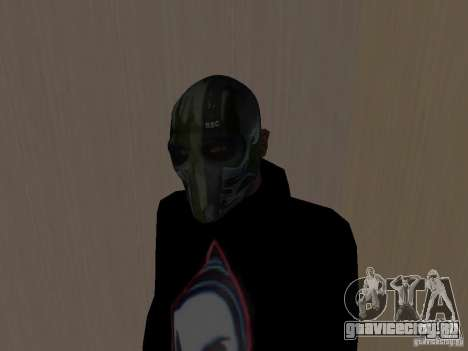 Army of Two Mask Camo для GTA San Andreas