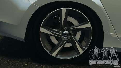Volvo S60 R-Designs v2.0 для GTA 4 вид сверху