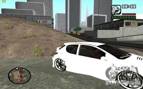 Peugeot 206 Tuning для GTA San Andreas