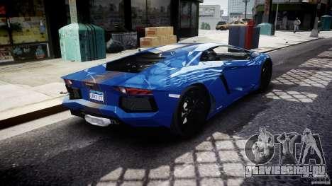 Lamborghini Aventador LP700-4 2011 [EPM] для GTA 4 вид сверху