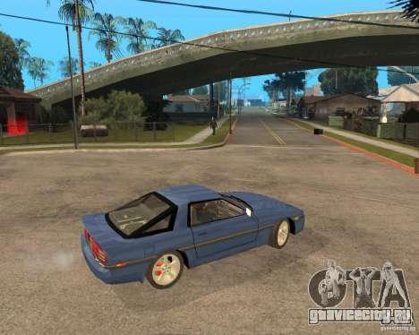 Toyota Supra MK3 для GTA San Andreas вид сбоку