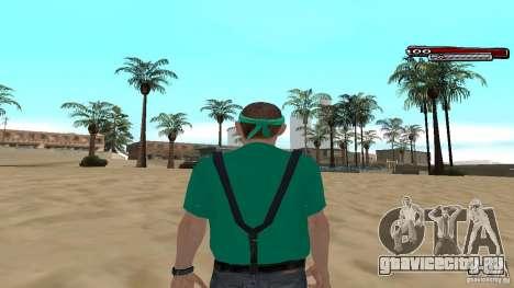 Skin Pack The Rifa Gang HD для GTA San Andreas четвёртый скриншот