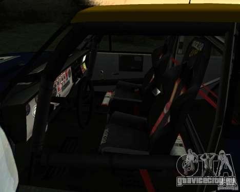 Fiat 131 Rally для GTA San Andreas вид сбоку