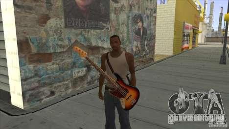 Песни группы КИНО на гитаре для GTA San Andreas восьмой скриншот