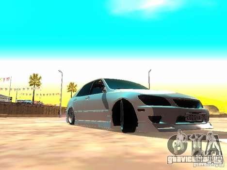 Toyota Altezza HKS для GTA San Andreas