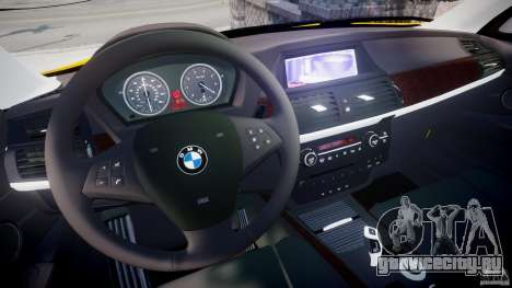 BMW X5 E70 v1.0 для GTA 4 вид сзади