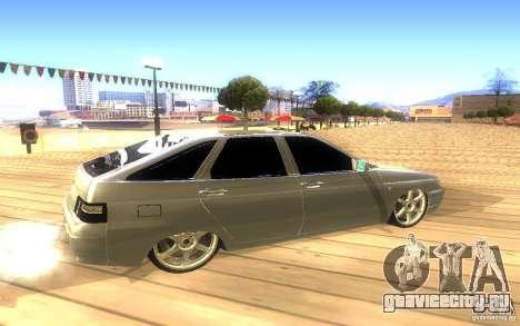 ВАЗ 2112 LT для GTA San Andreas вид сверху