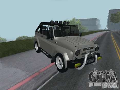 УАЗ-3159 для GTA San Andreas вид слева