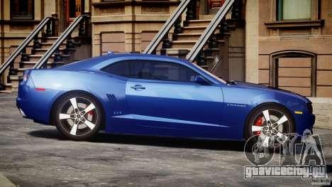 Chevrolet Camaro v1.0 для GTA 4 вид изнутри