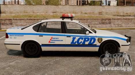 Новый Police Patrol для GTA 4 вид слева