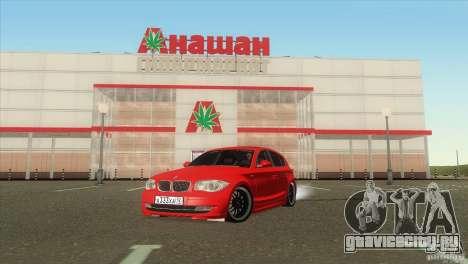 BMW 120i для GTA San Andreas