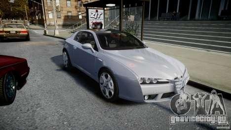Alfa Romeo Brera Italia Independent 2009 для GTA 4 вид сзади